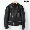 80 Wolf leather made in United Kingdom rongen UK semidouble Li jacket 38 97 cm mens S vintage Wolf leathers /wef6367 150314