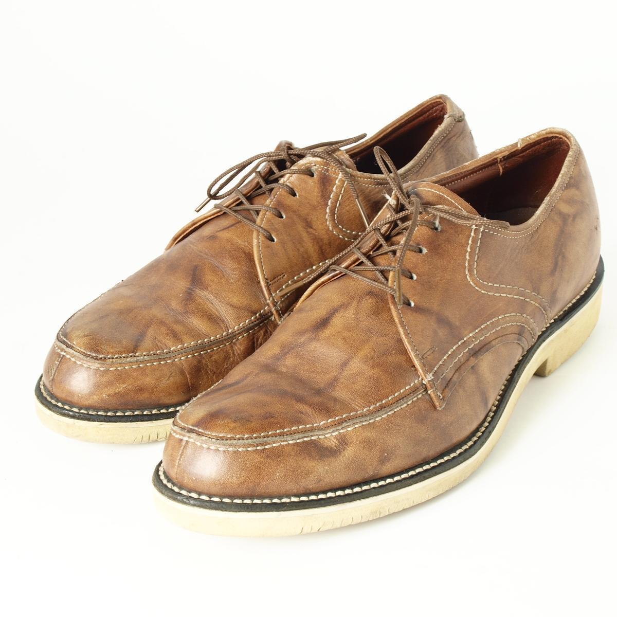 FOOT SO PORT shoes USA製 Uチップシューズ 9EE メンズ27.0cm ヴィンテージ /boi4574 【古着屋JAM】【中古】 160318【532P19Apr16】