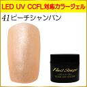 젤 네일 컬러 젤 LED UV 흡수 오프 5ml No.41 피치 샴페인