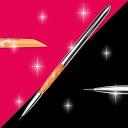 젤 네일 브러쉬 라이너 캡 된 주황색 분홍색 細筆 fs3gm