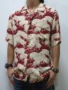 Dartisan jeans 5279 hundred pig pattern short sleeve Aloha shirts made Japan limited production artisans workshop point 05P13sep13