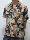 ダルチザン jeans 5209 flowers and pig print short sleeve Aloha craftsman workshop limited production points 05P13sep13