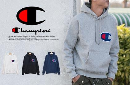 【CHAMPION チャンピオン】T1011 ポケット付 ヘビーウエイト クルーネックTシャツ C5-B303