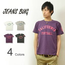 """FOOTBALL' JEANSBUG ORIGINAL PRINT T-SHIRT オリジナルアメカジ print short sleeve T shirt football numbering"