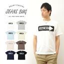 ONE WAY JEANSBUG ORIGINAL PRINT T-SHIRT オリジナルアメカジ print short sleeve T shirt 1-way route 89 American signs