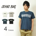 """NASHVILLE' JEANSBUG ORIGINAL PRINT T-SHIRT original Nashville casual printed short sleeve t-shirt"