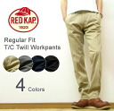 RED KAP (Red cap) Regular Fit Trouser Workpants regular fit pants トラウザーワーク TC ヘビーツイル ユーティリティユニ form Chino REDKAP global line