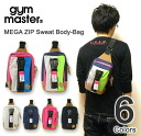 gym master ( jimmaster ) メガジップ sweat away body bag diagonally over bag shoulder bag outdoor デカジップ