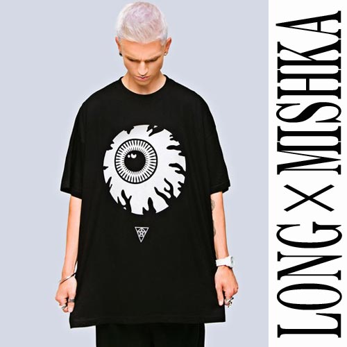 LONG CLOTHING�ڥ�󥰥��?���󥰡ۡ�MISHKA�ڥߥ����ۤΥ���ܡ��ܶ�T�����,kee...