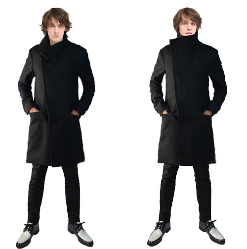 jellybeans-select | Rakuten Global Market: Black Jelly Wool Coat