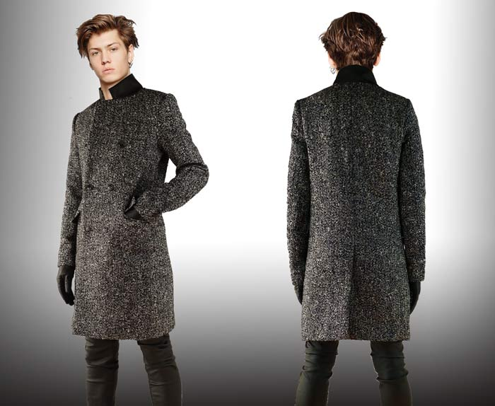 Herringbone Coat Mens