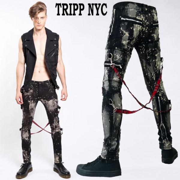 Tripp NYC�ʥȥ�åס��˥塼�衼����chaos-pants �֥���ʤ�ʤ������˥ܥ��...