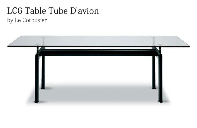 LC6 Table Tube D'avion