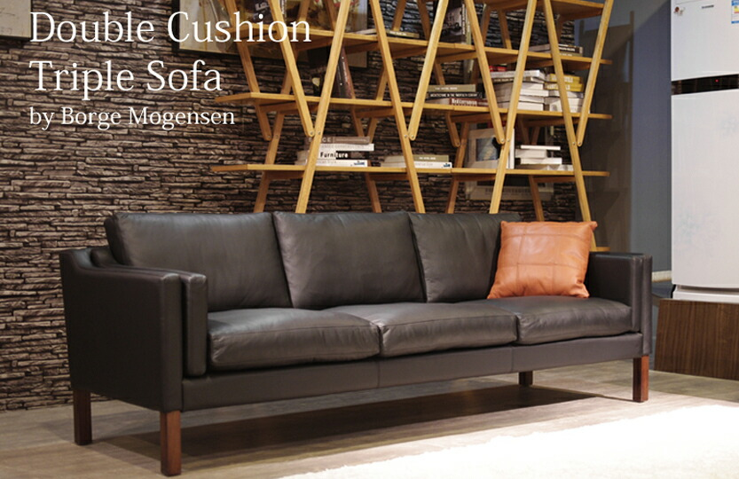 Double Cushion Sofa