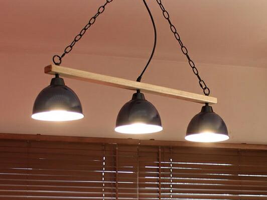 GENDER WOOD ROD 3 CEILING LAMP