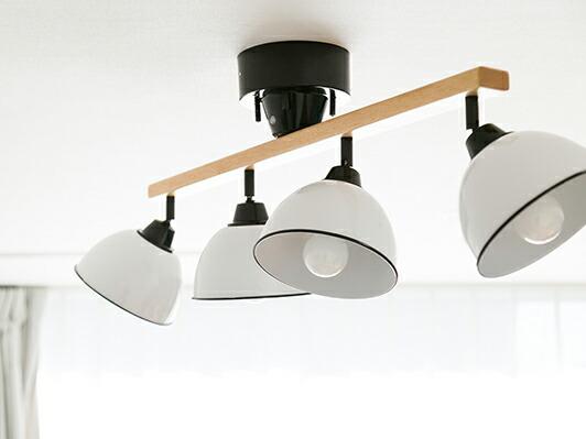 GENDER WOOD ROD 4 CEILING LAMP