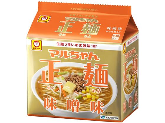東洋水産/マルちゃん正麺味噌味5食パック