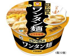 東洋水産/味の逸品ワンタン麺ピリ辛味噌82g×12食