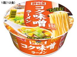 明星食品/評判屋コク味噌ラーメン78g12食