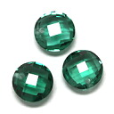 (Round about 6.0 mm) hole perforated reasonable green quartz and ルースス tone