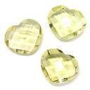 (Around 10 x 12 mm) reduced-rate ルースス tones of lemon Quartz.