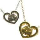 Capybara's heart pendant Silver / Gold color present gift Christmas wrapping fs3gm