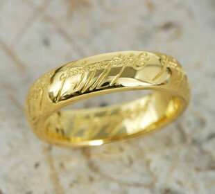 18-karat gold one ring