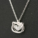 Hello Kitty pendant open face ZIRCONIA (zirconia) Kitty-Chan accessories gift gift wrapping 10P21May14