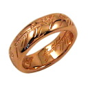 The One Ring ( the one ) pink gold coated ◆ load-of-the-rings toy limited accessories gifts gift Christmas wrapping fs3gm