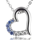 Swarovski pendant necklace -QP lapping free of charge◆