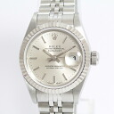 69174 ROLEX( Rolex) date just T turn silver clockface WG/SS beauty product