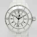 CHANEL (CHANEL) J12 H0968 quartz white ceramic fs3gm