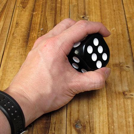シフトノブ ダイス(サイコロ) ブラック3
