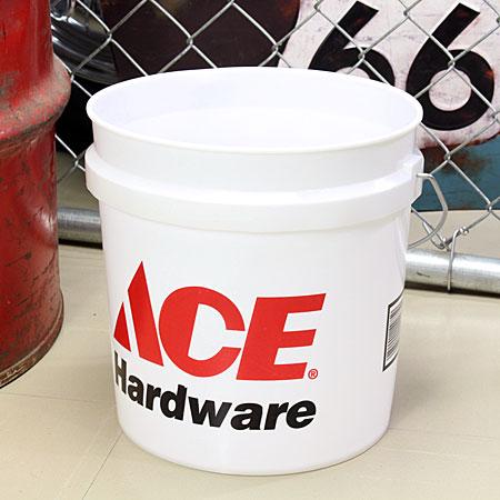 アメリカンバケツ エースハードウェア(ACE Hardware) 約7.5リットル サイズS