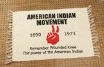インディアン ラグマット AMERICAN INDIAN MOVEMENT