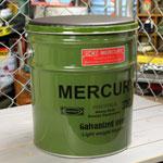 マーキュリー オイル缶スツール グリーン