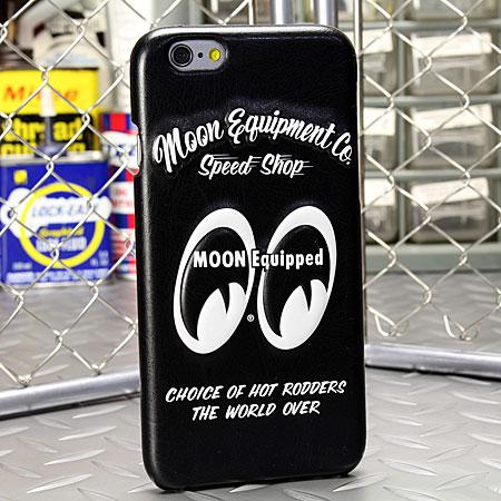 ����� iPhone6/6S�������ʥ��С��� MOONEYES �쥶���� 3D���㥱�å�