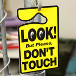 ����� �ѡ����ѡ��ߥå� LOOK! DON'T TOUCH