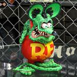 ラットフィンク フィギュア RAT FINK 8ボール DUNK