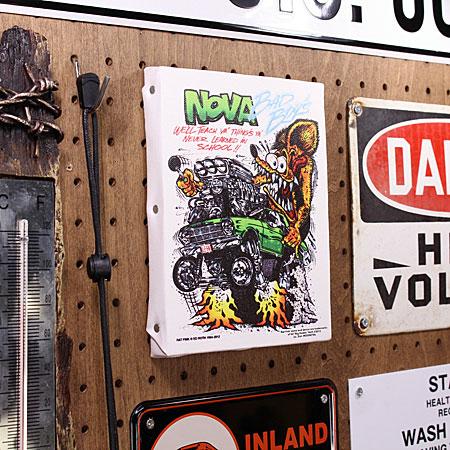 ラットフィンク ポスター キャンバスパネル Rat Fink NOVA サイズSの使用例