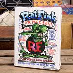 ラットフィンク ポスター キャンバスパネル Rat Fink PRESIDENT サイズS
