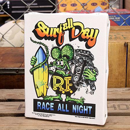 ��åȥե��� �ݥ����� �����Х��ѥͥ� Rat Fink SURF ALL DAY ������S