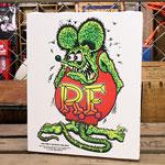 ��åȥե��� �ݥ����� �����Х��ѥͥ� Rat Fink Standing ������M