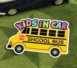 KIDS IN CAR ステッカー SCHOOL BUS サイズM