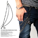 ◆ ユリチャーム 3 wallet chain ◆ brother series Men's accessories Accessories mens wallet chain meaning meting