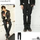 ◆ Roshell (Rochelle) one wash denim pants! ◆ brother series Men's jeans denim men's brother of denim jeans bottoms pants brother series fashion brother % men's fashion straight bamboo.