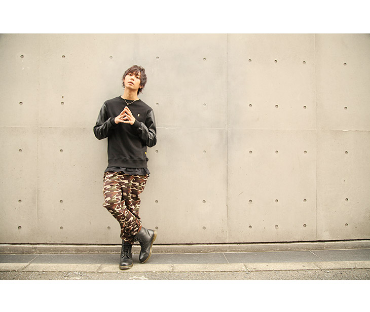 ◆Jersey jersey bottoms underwear older brother system fashion older brother men fashion たけぞー camo camouflage camouflage jersey of Mens men older