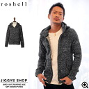 ◆It is slight wound older brother system fashion older brother %OFF men fashion Birdseye charcoal in Men's zip parka parka men older brother system parka long sleeves parka zip Lady's fall and winter of roshell( Rochelle) Birdseye back raising parka ◆ ol