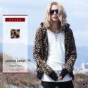 ◆SEANA Leopard Hoodie◆ Visitual style/ cool style/ Hoodie/ Man's hoodie/ lomg sleeve/ panl rock/ man's fashion/ Leopard
