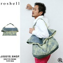 ◆Bag size grain A4 trip bag bag bag attending school bag older brother system fashion older brother men fashion denim jeans of Men's Thoth older brother of roshell( Rochelle) 2WAYPU denim tote bag ◆ older brother line line